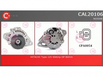 ALTERNATORE NISSAN KING CAB D22