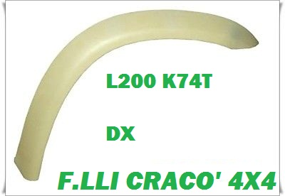 PARAFANGHINO ANTERIORE DX L200 K74T